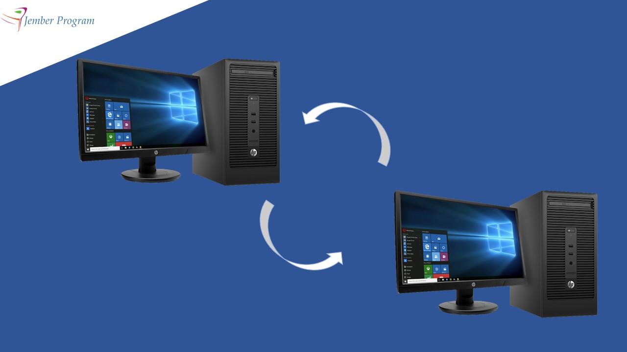 Cara Mengendalikan atau Meremot Komputer dari Jarak Jauh Menggunakan Handphone / Komputer Lain by Jember Program