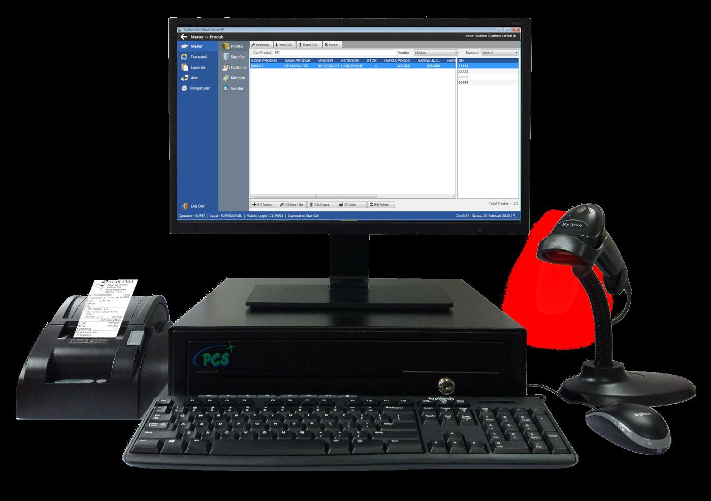 Aplikasi Kasir Grosir Konter HP dengan IMEI
